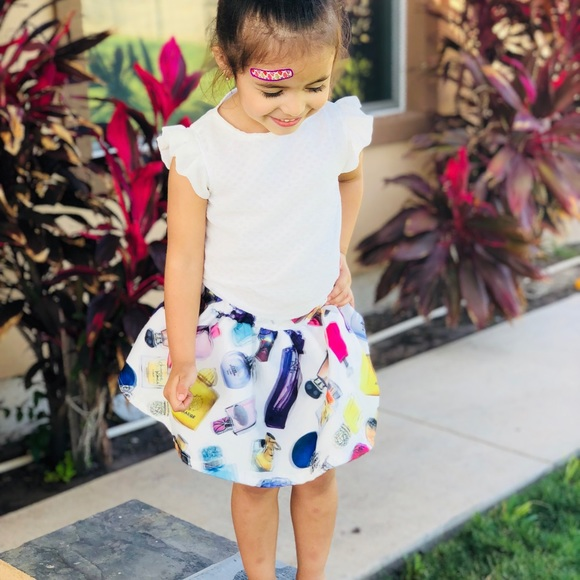 Chic 2pc Skirt Blouse For Toddler Girl Boutique